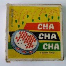 Juegos de mesa: ANTIGUO JUEGO CHA-CHA-CHA. EL SALTEADOR SOLITARIO. JUGUETE ANGUPLAS.. Lote 230506880