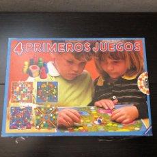 Juegos de mesa: JUEGO DE MESA 4 PRIMEROS JUEGOS 1982 EDUCA RAVENSBURGUER. Lote 230710605