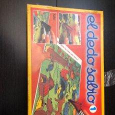 Juegos de mesa: JUEGO DE MESA ANTIGUO EL DEDO SABIO 1EDUCA 1982, JUGUETE ANTIGUO. Lote 230713480