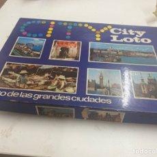 Juegos de mesa: JUEGO CITY LOTO. Lote 230955005