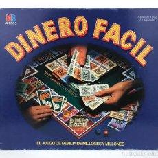 Juegos de mesa: DINERO FACIL COMPLETO. JUEGO DE MESA FAMILIA MILLONES CASINO LOTERIA BROKER WALL STREET LAS VEGAS MB. Lote 231087745