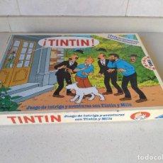 Juegos de mesa: TINTIN. QUIEN HA SECUESTRADO AL PROFESOR SILVESTRE. AÑO 1987. Lote 231157120