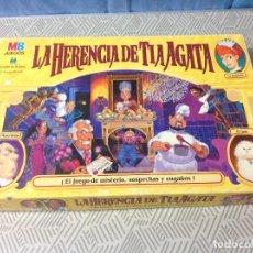 Juegos de mesa: ANTIGUO JUEGO LA HERENCIA DE LA TIA AGATA DE MB. AÑO 2000. ESTÁ COMPLETO. Lote 231414385