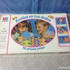 Juegos de mesa: ANTIGUO JUEGO ANILLOS EN SUS DEDOS DE MB 1983. Lote 231415855