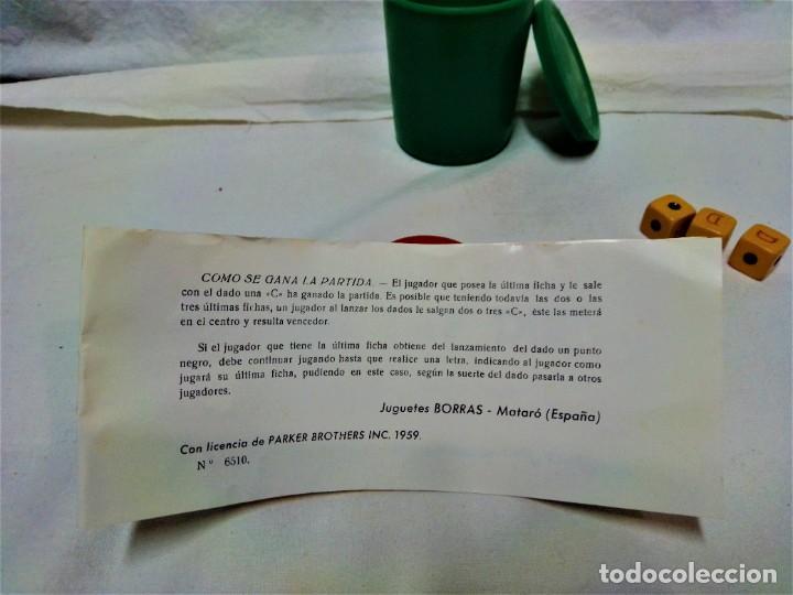 Juegos de mesa: JUEGO NEVER SAY DIE,EXCLUSIVA JUGUETES BORRÁS-MATARÓ.LICENCIA PARKER BROTHERS,INC,AÑO 1959. - Foto 10 - 231798745