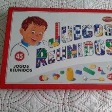 Juegos de mesa: JUEGOS REUNIDOS AÑOS 80 Y90. Lote 231972350