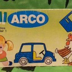Juegos de mesa: MINI ARCO JUEGO INFANTIL - REF.505031 . JUEGO EDUCATIVO AÑOS 80.. Lote 232013145