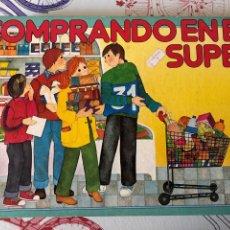 Juegos de mesa: JUEGO ANTIGUO COMPRANDO EN EL SÚPER, EDUCA 82. Lote 232606695