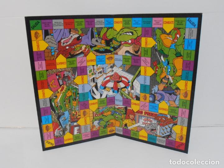 Juegos de mesa: JUEGO DE MESA, TORTUGAS NINJA DEVORADORAS DE PIZZA, MB JUEGOS, COMPLETO, AÑOS 90 - Foto 3 - 232804907