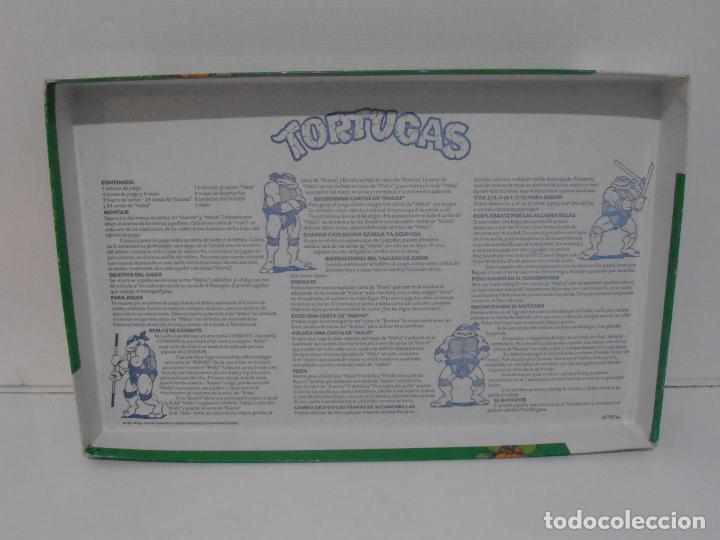 Juegos de mesa: JUEGO DE MESA, TORTUGAS NINJA DEVORADORAS DE PIZZA, MB JUEGOS, COMPLETO, AÑOS 90 - Foto 5 - 232804907