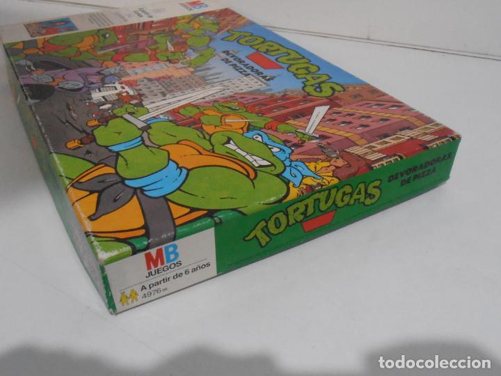 Juegos de mesa: JUEGO DE MESA, TORTUGAS NINJA DEVORADORAS DE PIZZA, MB JUEGOS, COMPLETO, AÑOS 90 - Foto 8 - 232804907