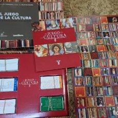 Juegos de mesa: JUEGO DE MESA EL JUEGO DE LA CULTURA DE SANTILLANA - EDICIÓN ESPECIAL PARA EL PROFESORADO. Lote 232851885