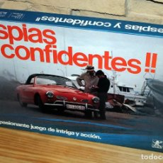 Jeux de table: ESPIAS Y CONFIDENTES, DE BORRAS - NUEVO - SIN USO - ANTIGUO JUEGO DE MESA. Lote 233415930