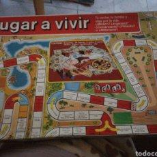 Juegos de mesa: JUGAR A VIVIR. Lote 234029645