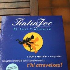 Juegos de mesa: TINTIN JOC TRIVIAL. Lote 234296645