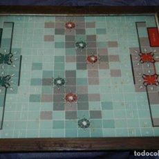 Juegos de mesa: (M) TABLERO COMBATE NAVAL AÑOS 40, IMP.HERMES BARCELONA, 37X47 CM JUEGO DE MESA. Lote 234654015