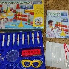 Juegos de mesa: JUEGO EXPERIMENTOS CIENCIAS LABORATORIO DE QUIMICA CLEMENTONI. Lote 234957750