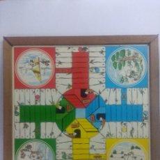 Juegos de mesa: TABLERO SNOOPY PARCHIS/AJEDREZ.. Lote 235123475