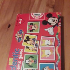 Juegos de mesa: IDENTIC MEMO GAME MICKEY KIDS DISNEY MEMORY. Lote 235142910