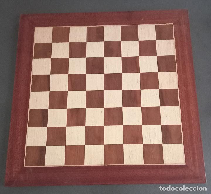 TABLERO DE AJEDREZ DE MADERA (Juguetes - Juegos - Juegos de Mesa)
