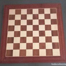 Jeux de table: TABLERO DE AJEDREZ DE MADERA. Lote 235351985