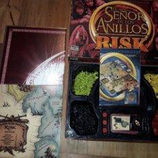 Juegos de mesa: EL SEÑOR DE LOS ANILLOS RISK, PARKER.. Lote 235458155