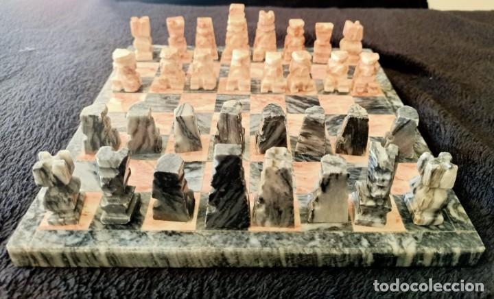 Juegos de mesa: Ajedrez de Marmol - Foto 4 - 235577725