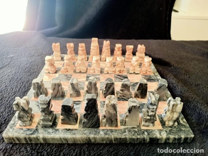 Juegos de mesa: Ajedrez de Marmol - Foto 8 - 235577725