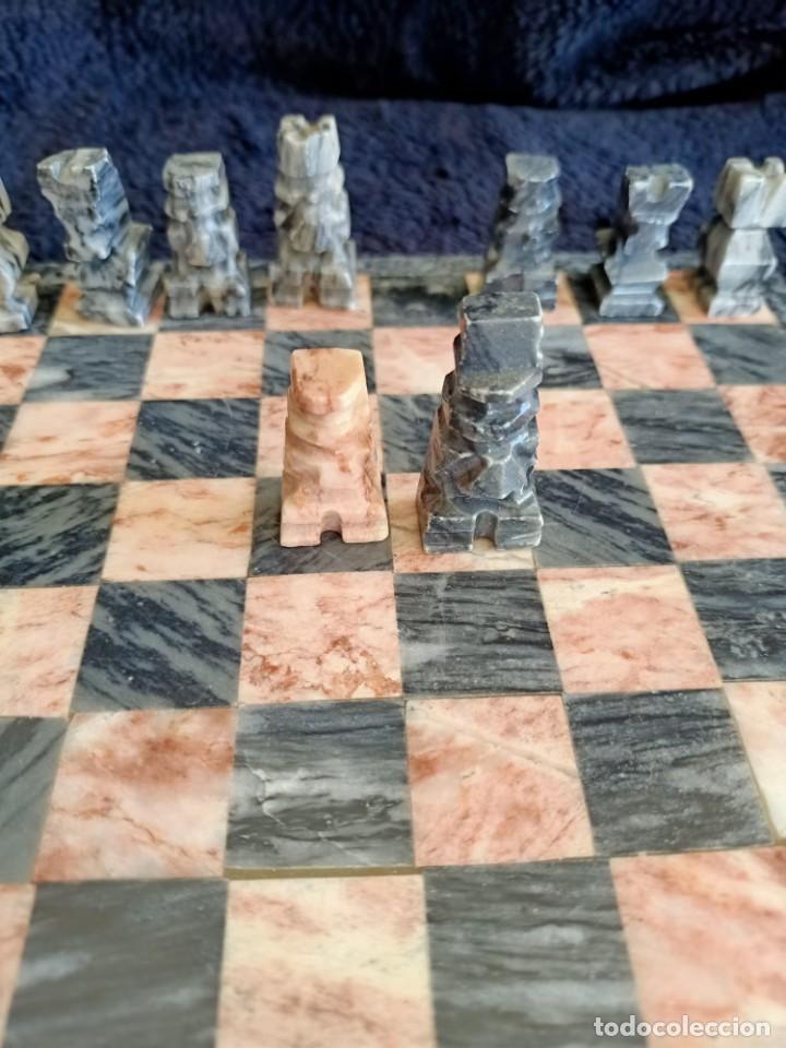 Juegos de mesa: Ajedrez de Marmol - Foto 10 - 235577725