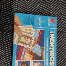 Juegos de mesa: JUEGO DE MESA MENTIROSO DE MB. Lote 235612140
