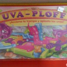 Juegos de mesa: UVA-PLOFF JUEGO DE PLASTILINA CON TABLERO.TONKA-MB-PARKER 1992.SIN ABRIR.. Lote 235799990