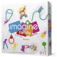 Juegos de mesa: IMAGINE FAMILY - JUEGO DE MESA - NUEVO. Lote 235808535