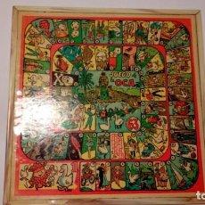 Juegos de mesa: JUEGO DE LA OCA Y PARCHÍS DE LOS AÑOS 70. Lote 235849725