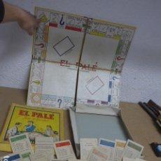 Juegos de mesa: ANTIGUO JUEGO DE MESA DE EL PALE, ORIGINAL, INCOMPLETO.. Lote 235851770