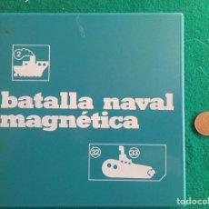 Juegos de mesa: JUEGO DE BATALLA NAVAL MAGNÉTICA MARIGO, REF. 130/5. Lote 236155385