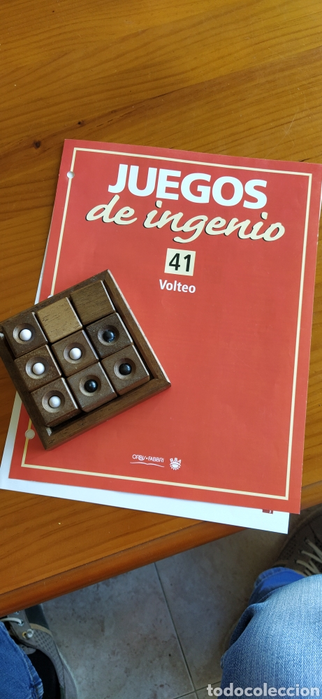 JUEGO DE MADERA VOLTEO (Juguetes - Juegos - Juegos de Mesa)