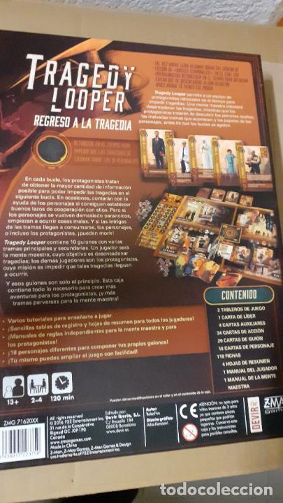 Juegos de mesa: tragedy looper. devir - Foto 2 - 237115430