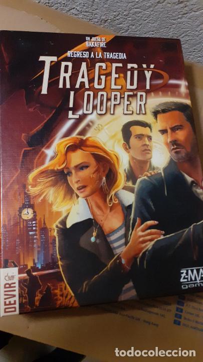 TRAGEDY LOOPER. DEVIR (Juguetes - Juegos - Juegos de Mesa)