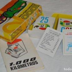Juegos de mesa: 1.000 KILÓMETROS - ESTUCHE/CAJA FOURNIER / JUEGO COMPLETO, 106 CARTAS + INSTRUCCIONES / AÑO 1964. Lote 237387075