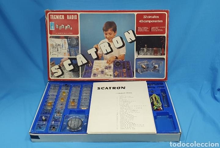 Juegos de mesa: SCATRON - TECNICO RADIO - SCALA S.A. - Foto 2 - 237435090