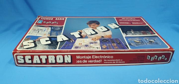 Juegos de mesa: SCATRON - TECNICO RADIO - SCALA S.A. - Foto 4 - 237435090
