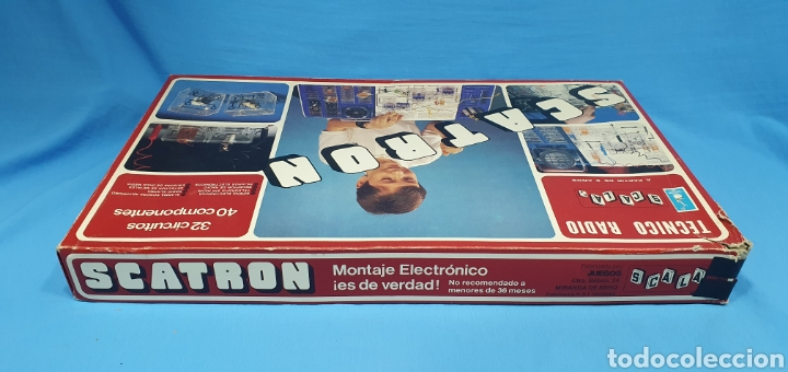 Juegos de mesa: SCATRON - TECNICO RADIO - SCALA S.A. - Foto 6 - 237435090