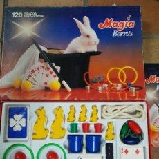 Juegos de mesa: JUEGO MAGIA BORRAS 120 TRUCOS CON 2 MANUALES, COMO SE APRECIA EN LAS FOTOGRAFÍAS. Lote 237614890