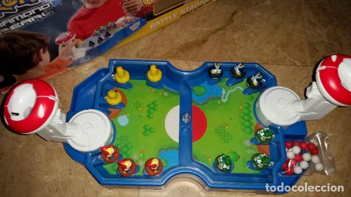 Juegos de mesa: JUEGO POKEMON DIAMOND PEARL - BANDAI 2008 - FUNCIONA - 12 FIGURAS LANZADOR BOLAS BATALLA - Foto 2 - 239747030
