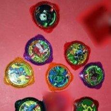 Juegos de mesa: LOTE 12 TAZO KRAKSVARIADOS INVIZIMALS. Lote 239748520