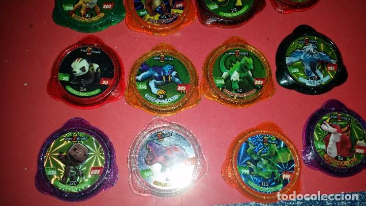 Juegos de mesa: LOTE 12 Tazo kraksVARIADOS INVIZIMALS - Foto 2 - 239748520