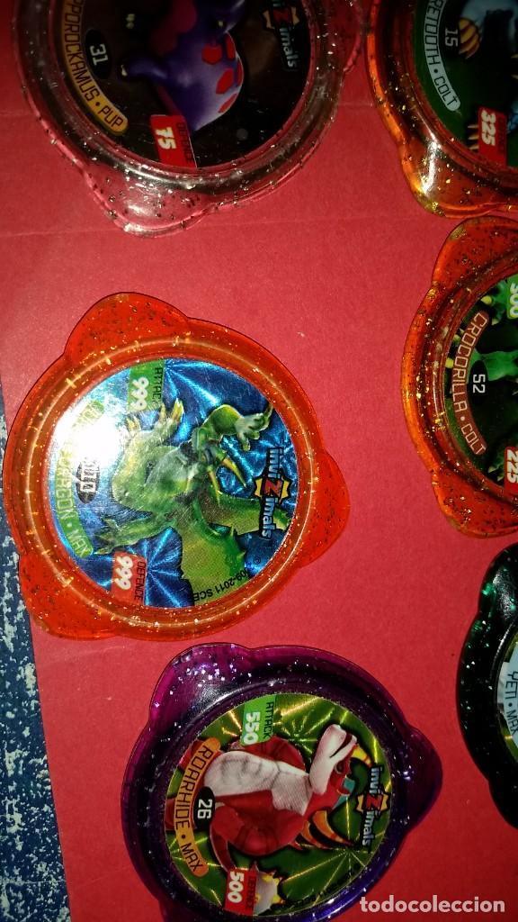 Juegos de mesa: LOTE 12 Tazo kraksVARIADOS INVIZIMALS - Foto 4 - 239748520