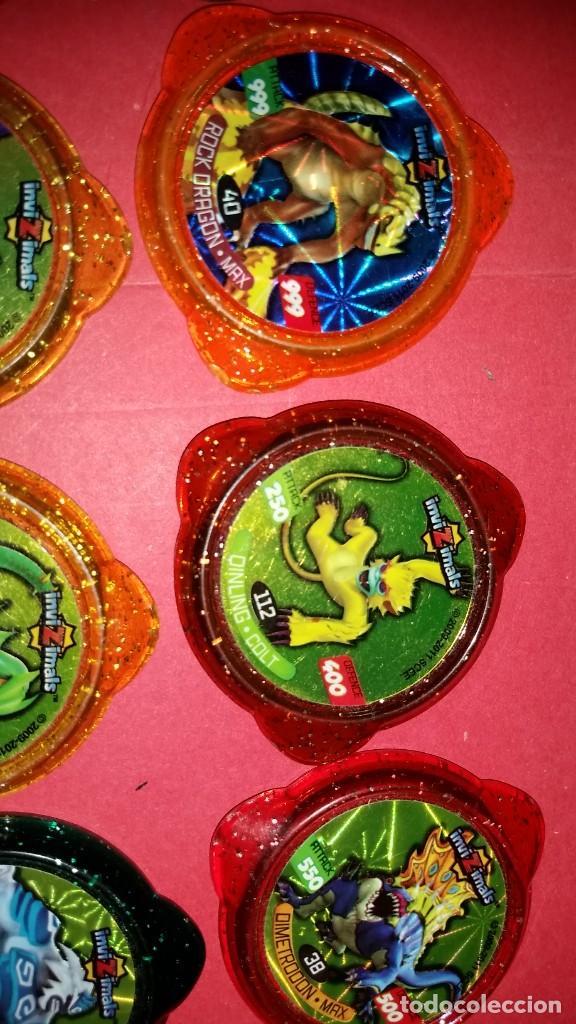 Juegos de mesa: LOTE 12 Tazo kraksVARIADOS INVIZIMALS - Foto 5 - 239748520