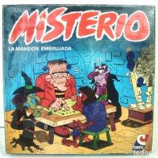 Juegos de mesa: JUEGO DE MESA AÑOS 80-MISTERIO DE CEFA REF: 11-5001 SPAIN-LA MANSION ENCANTADA -CUADRADO - ANTIGUO. Lote 239812285