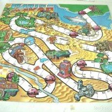 Juegos de mesa: ANTIGUO Y RARO TABLERO DE JUEGO DE MESA - PARIS DAKAR - AÑOS 80. Lote 239896325